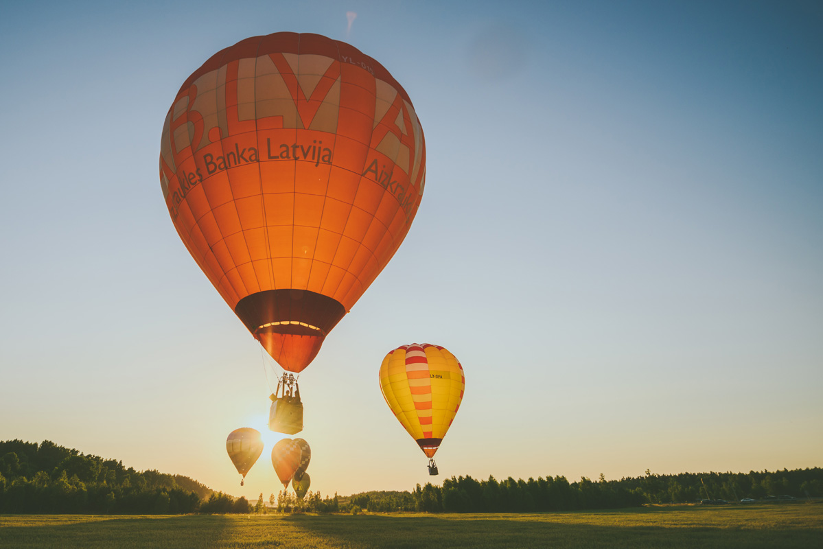 Hot Air Ballooning is an interesting and popular activity to do when in Lithuania.