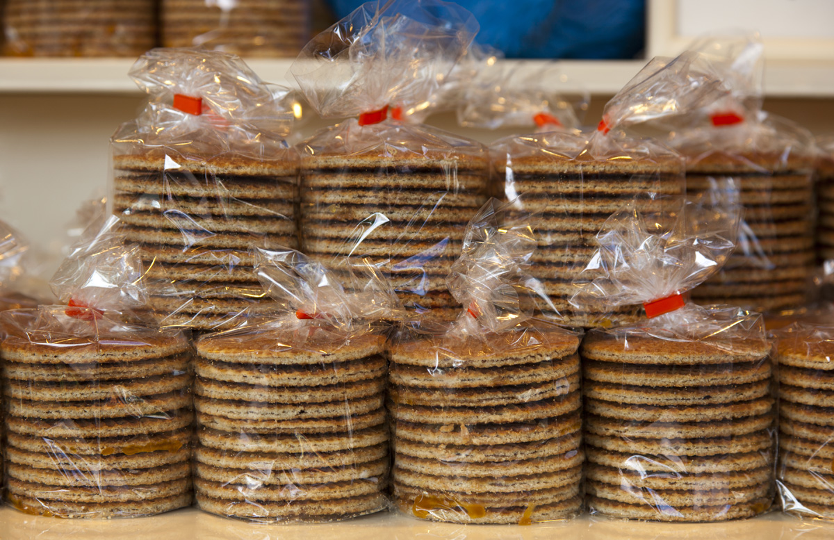Stroopwafels - a sticky and sweet Dutch treat.