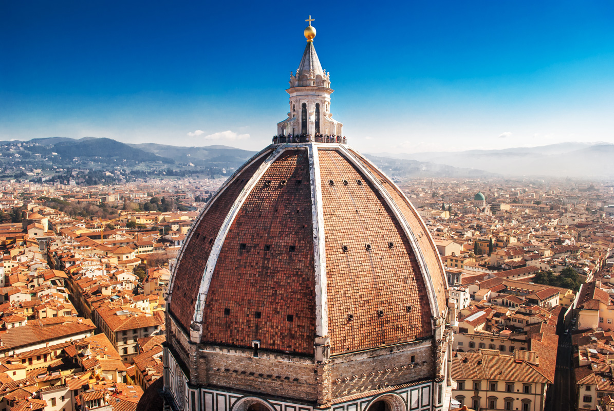 Florence is the capital of the region of Tuscany. The famous nurse, Florence Nightingale, was born here in 1820.