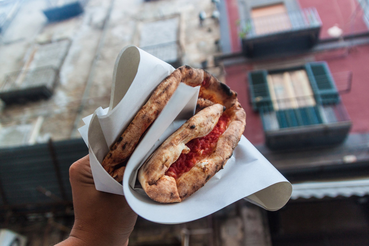 Folded Pizza (Calzone) is a must when you're in Italy!