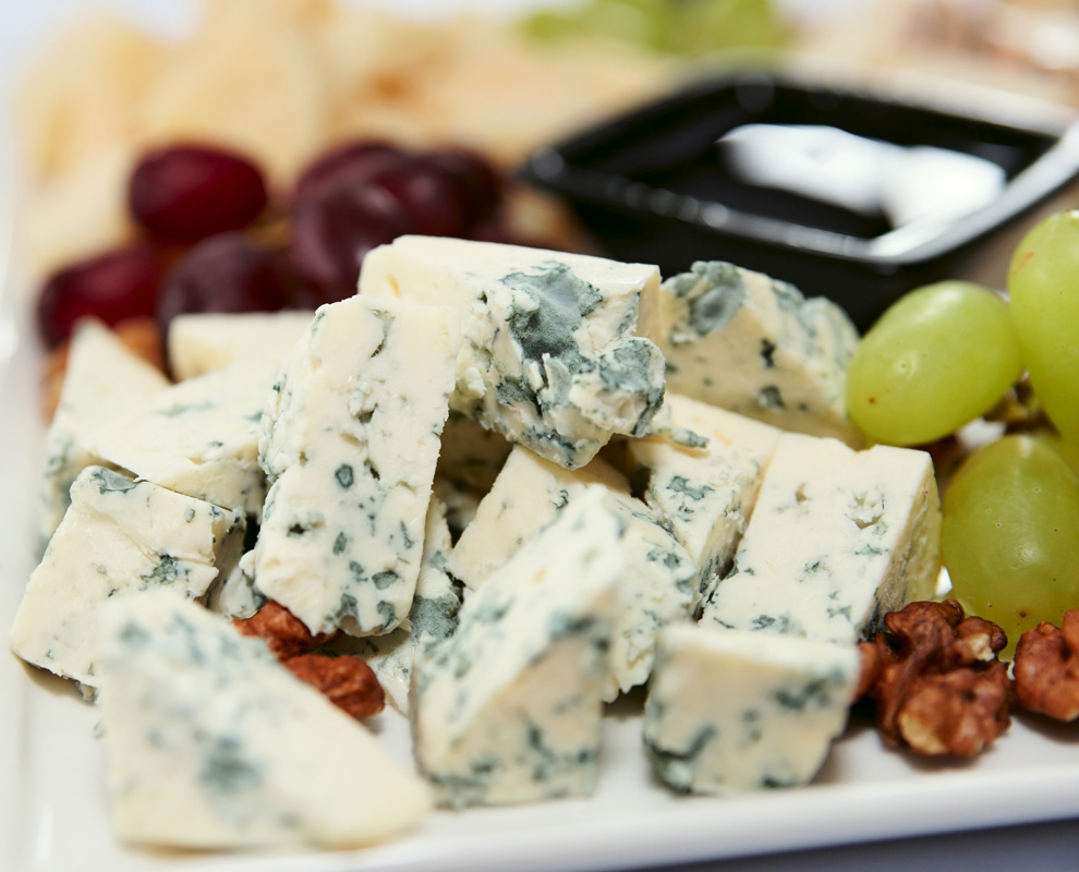 Blue Cheese. French cheeses are split into three very distinct types: soft, blue and pressed cheeses.