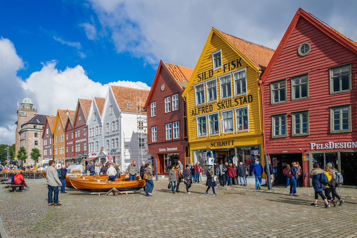 Bryggen is a UNESCO World Heritage site and one of Norway's most visited tourist attractions.
