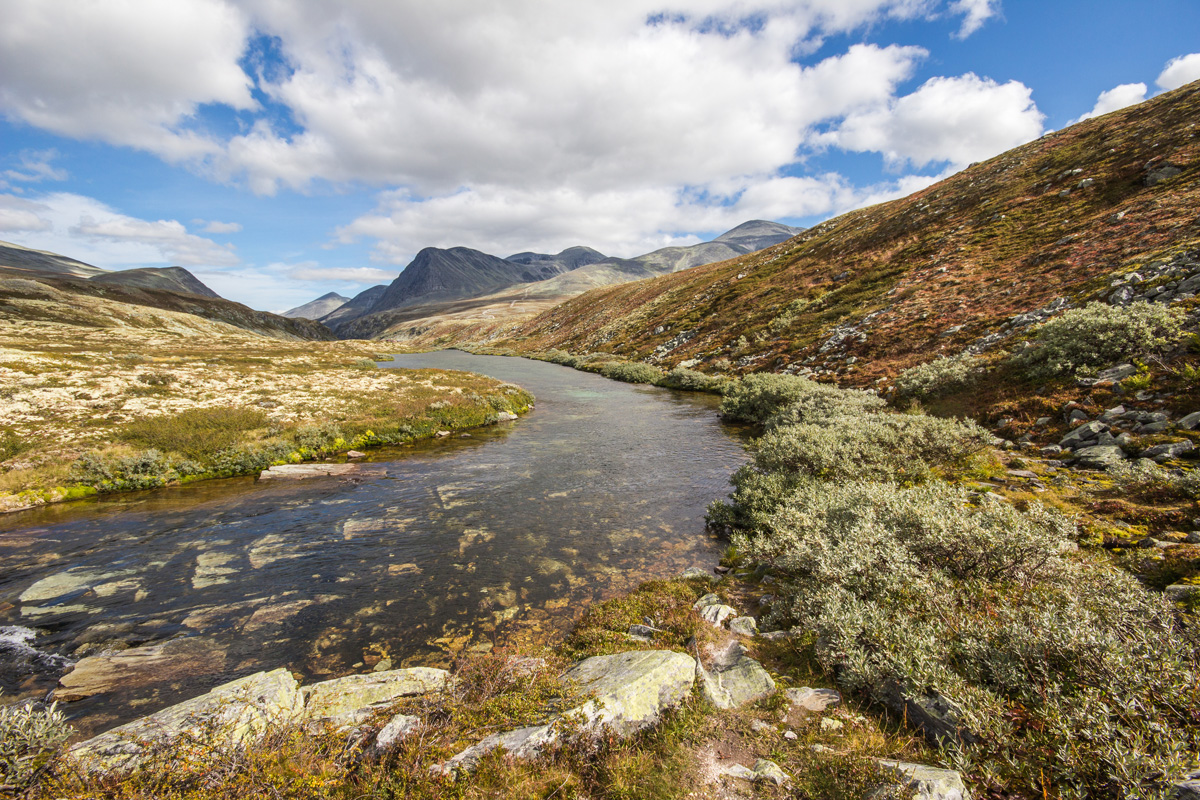 Rondane National Park. One of the many national parks located around Lillehammer.