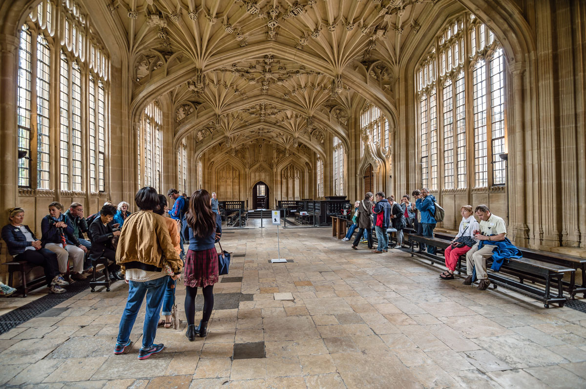 Oxford, UK. You might recognise the Bodleian Library from Harry Potter films.