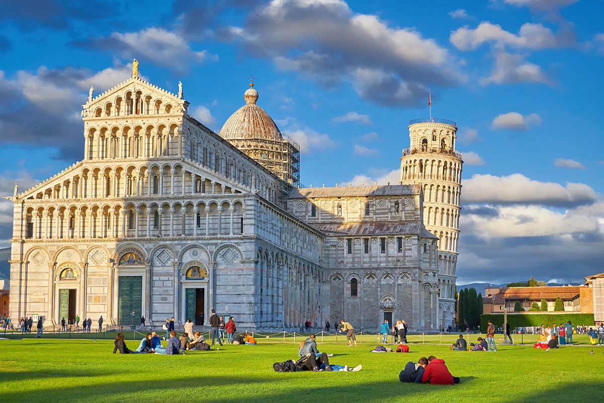 leaning tower of pisa - tour to italy