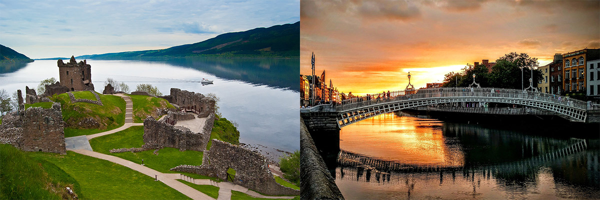 Sightseeing in Scotland and Ireland Older Travellers