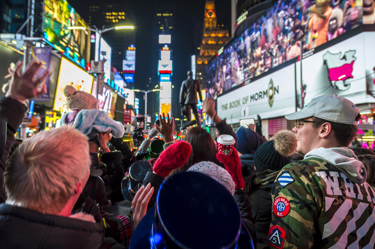 New Years eve, Time's Square, New York