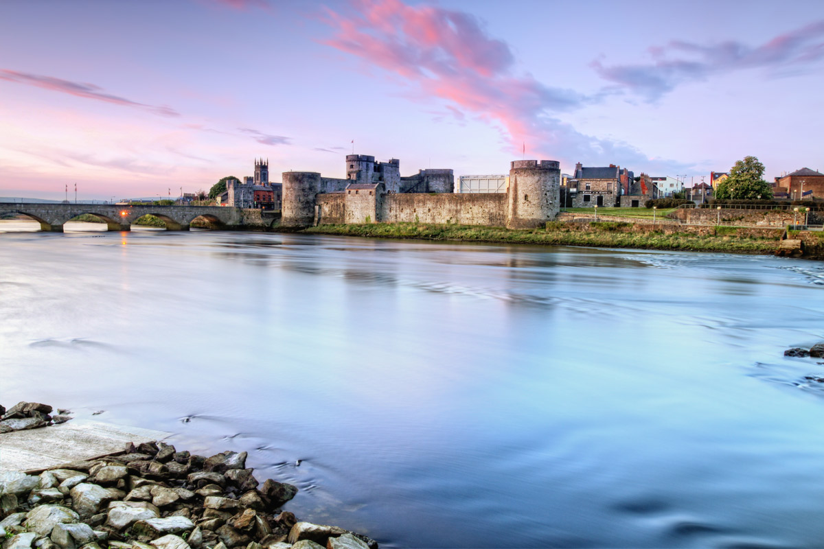 King John's Castle is a castle located on King's Island in Limerick, Ireland,