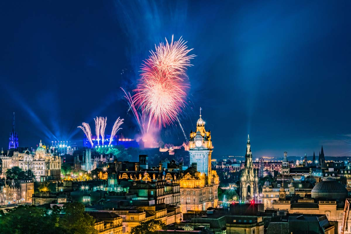 Hogmanay in Edinburgh