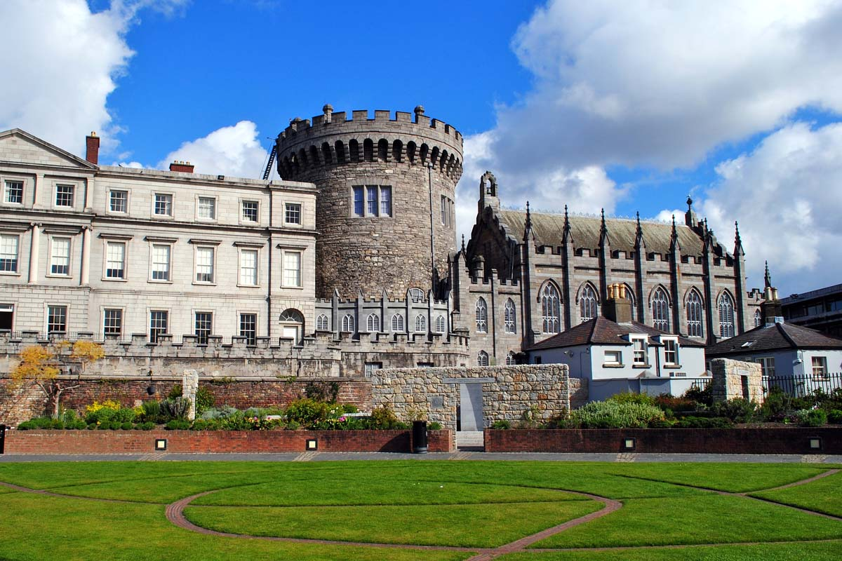 The famous Dublin Castle
