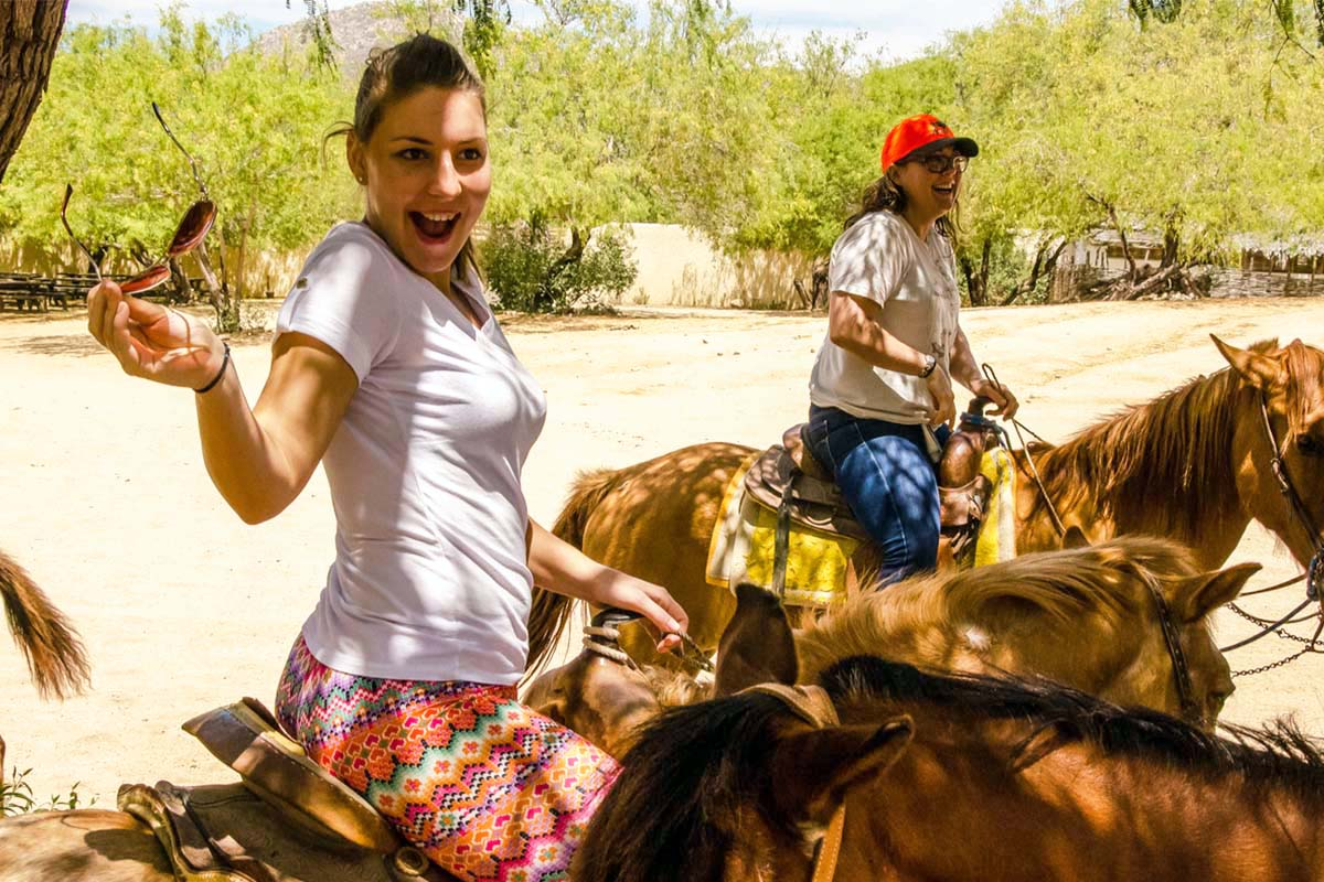 Horseback riding in Cabo San Lucas
