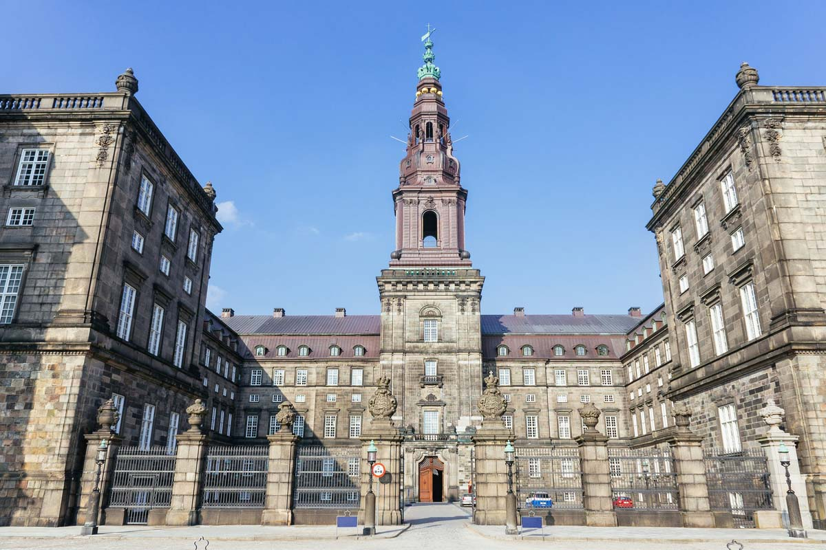 The Christianborg Palace in Copenhagen