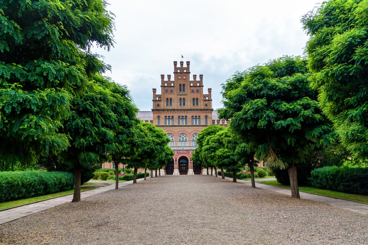 Chernivtsi National University in Ukraine