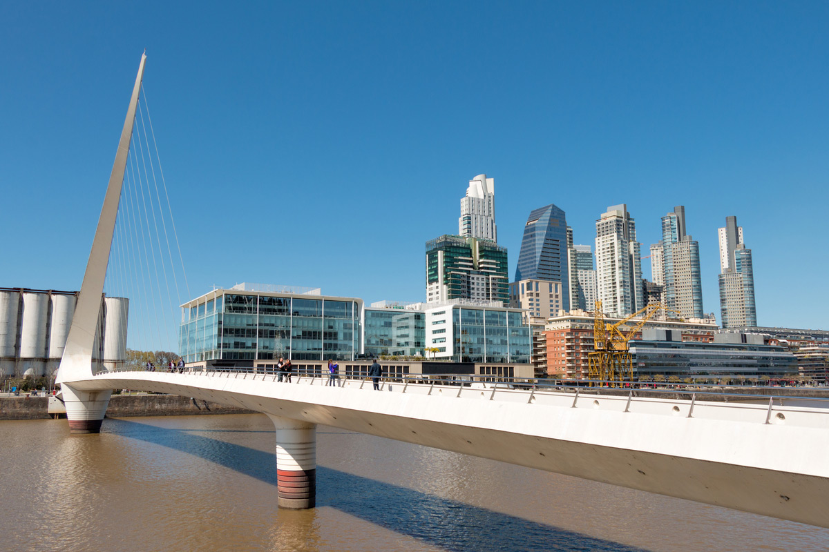 Puerto Madero, a modern and historic part of town