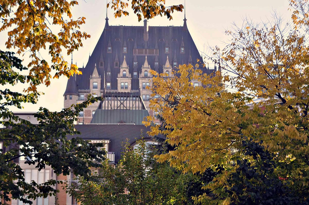 See top sights in Old Quebec on a Nomad Quebec Walking Tour with Marie