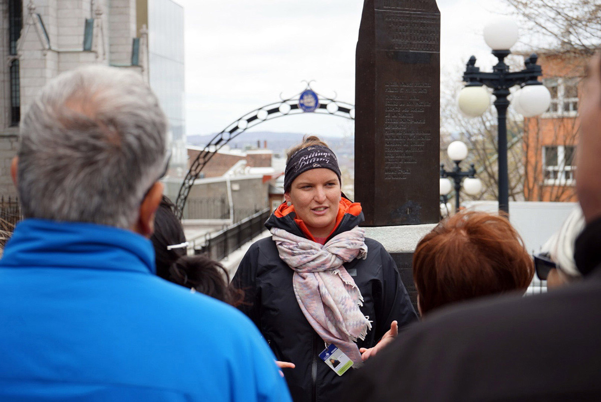 Look forward to hearing historic facts, getting cultural insights and learning all about Quebec on one of Marie's walking tours.