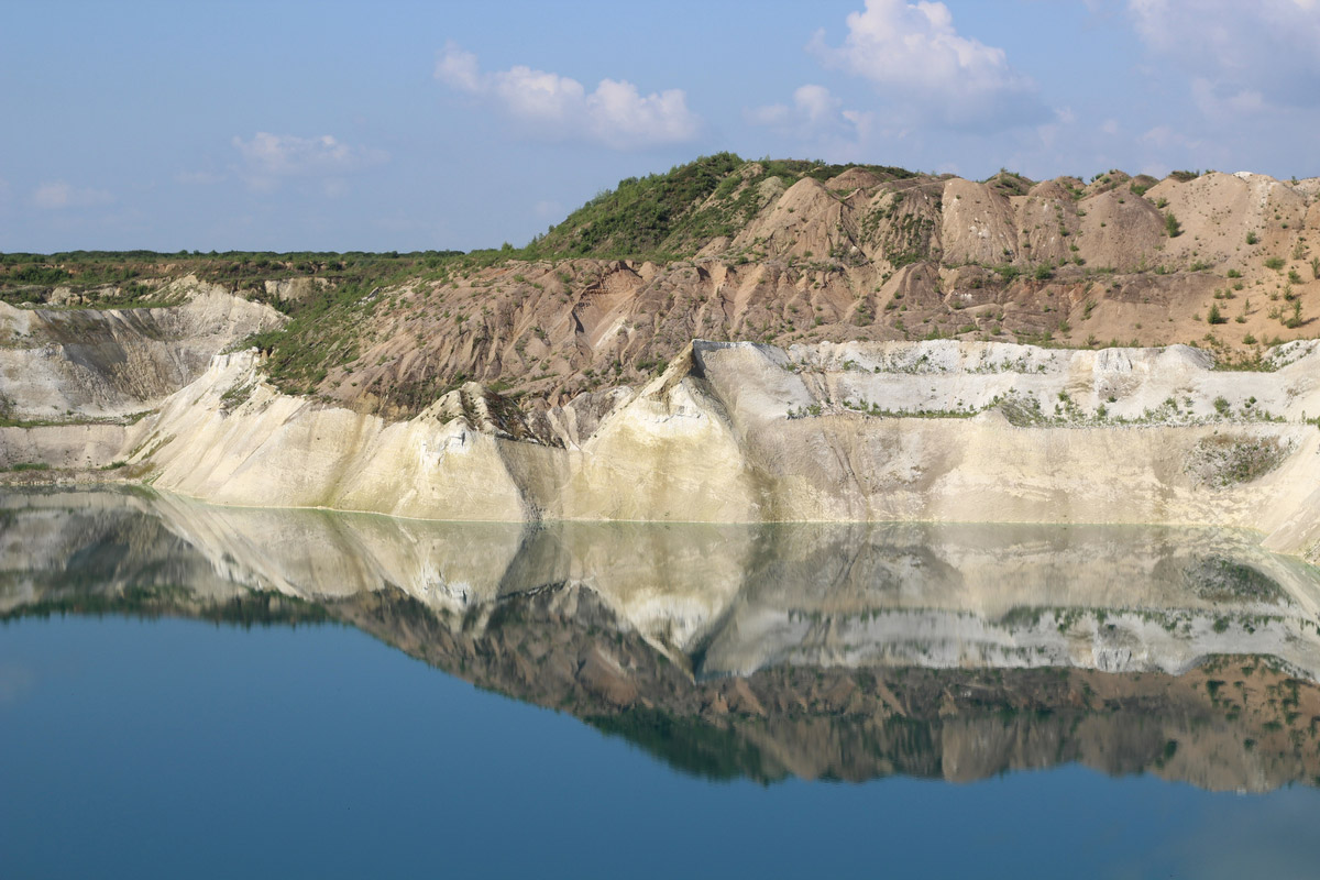 The Belarusian Maldives (chalk pits), Belarus