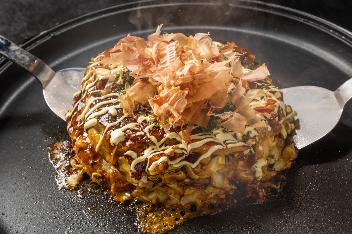 Japanese Traditional Okonomiyaki