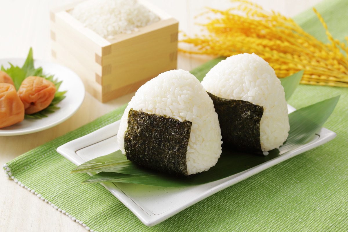 Onigiri, traditional Japanese Rice Balls