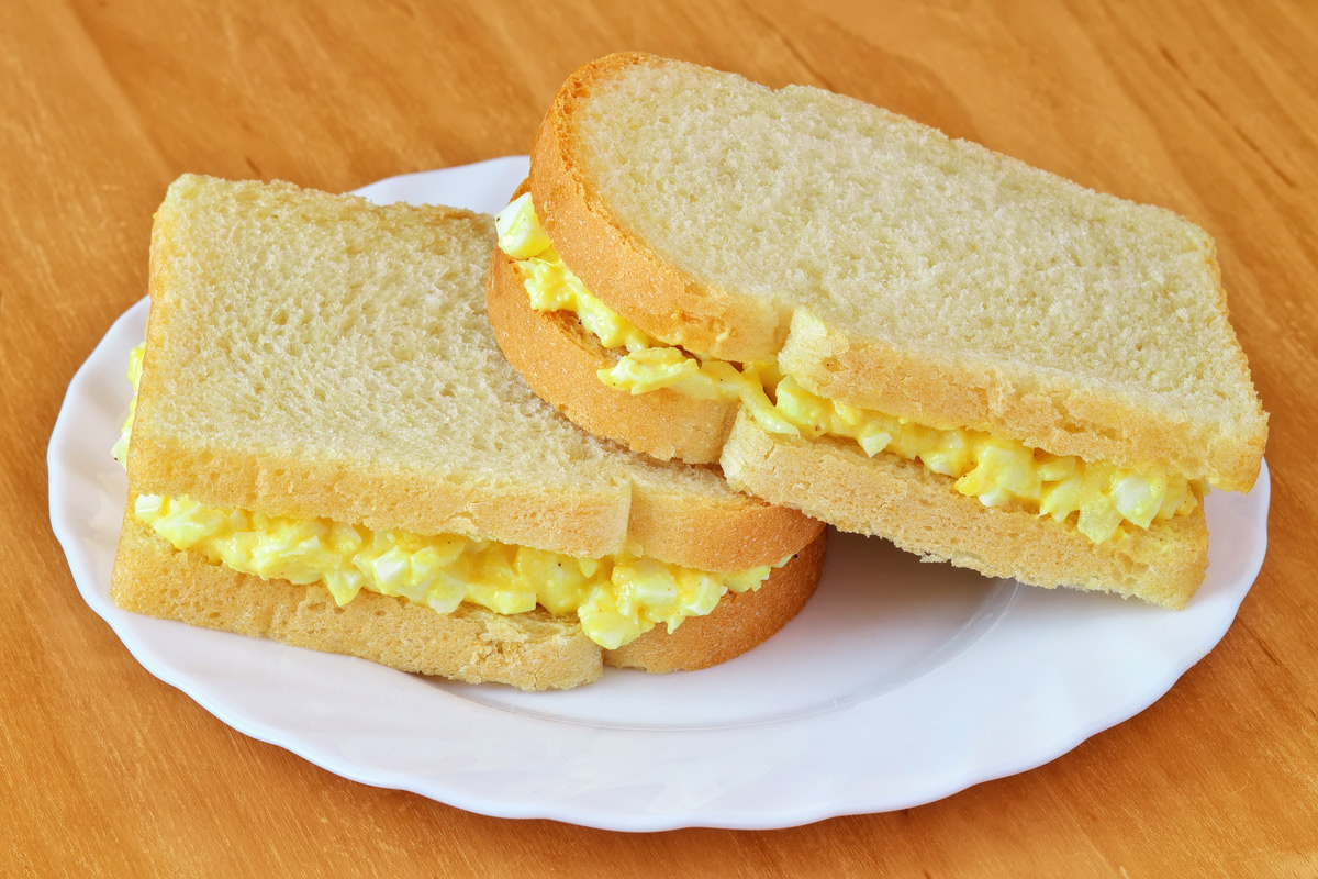Tamago-Sando, japanese sandwich with egg salad