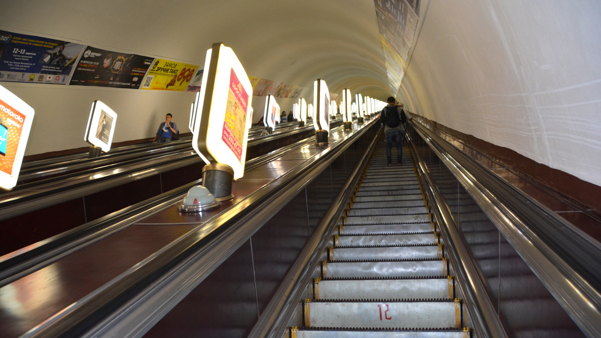 World's deepest metro station reasons to visit Kiev