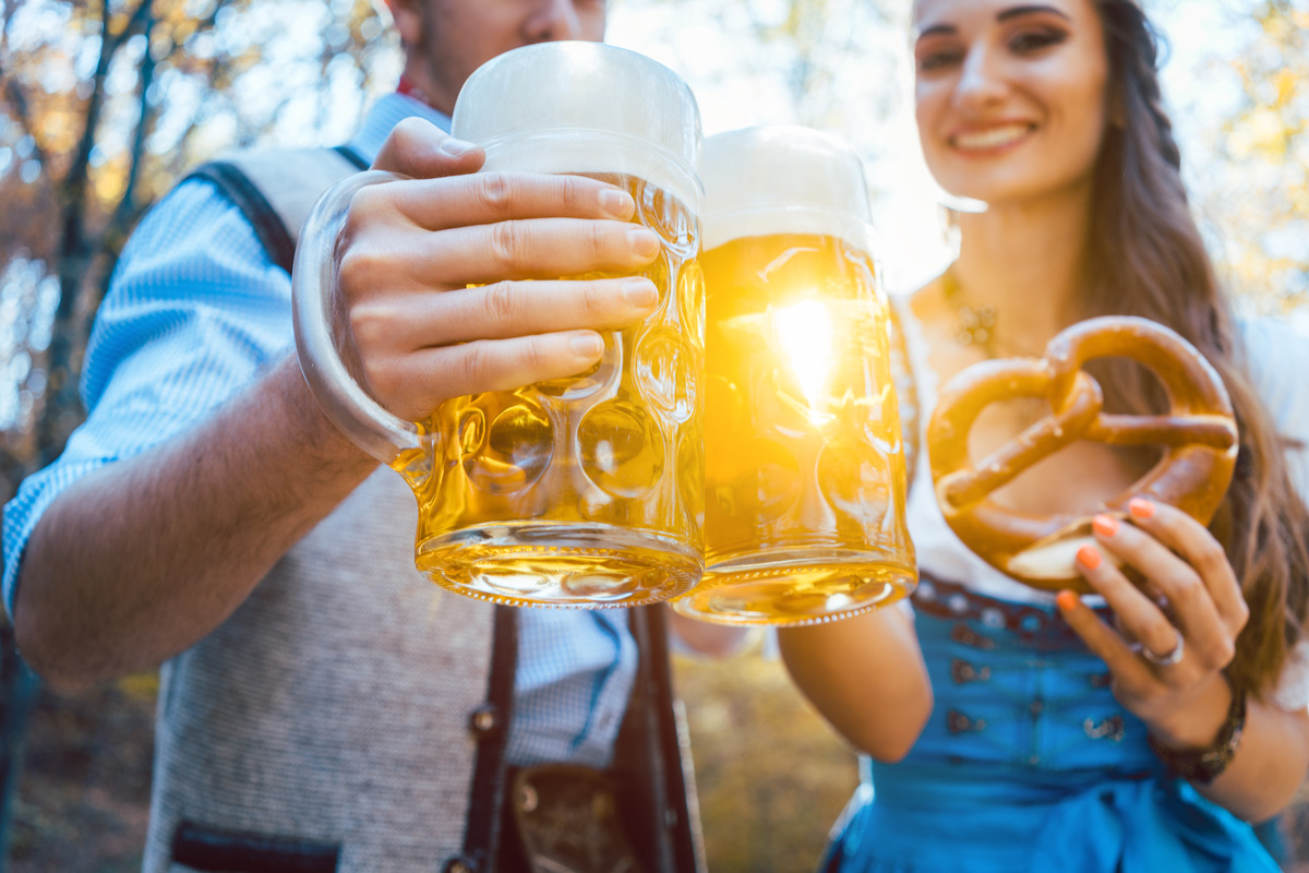 Experience authentic Bavarian beer