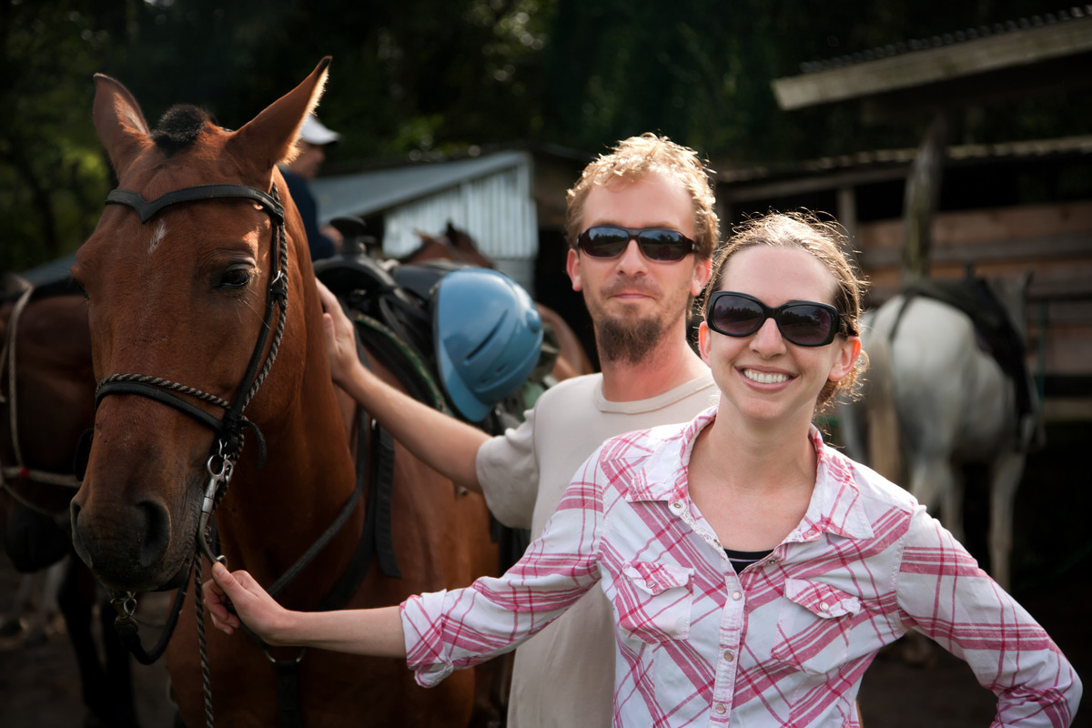 Go horseback riding in Costa Rica