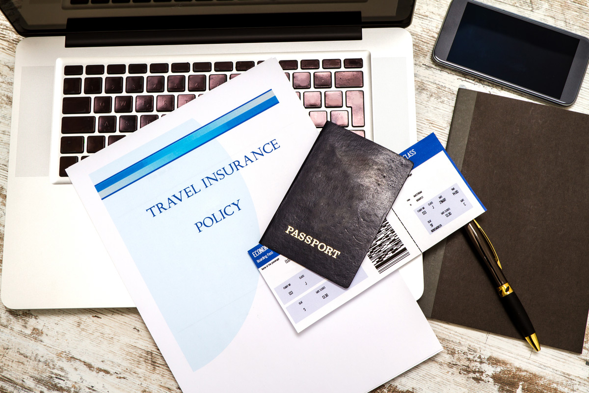 Make sure you have all your travel documents ready for travel