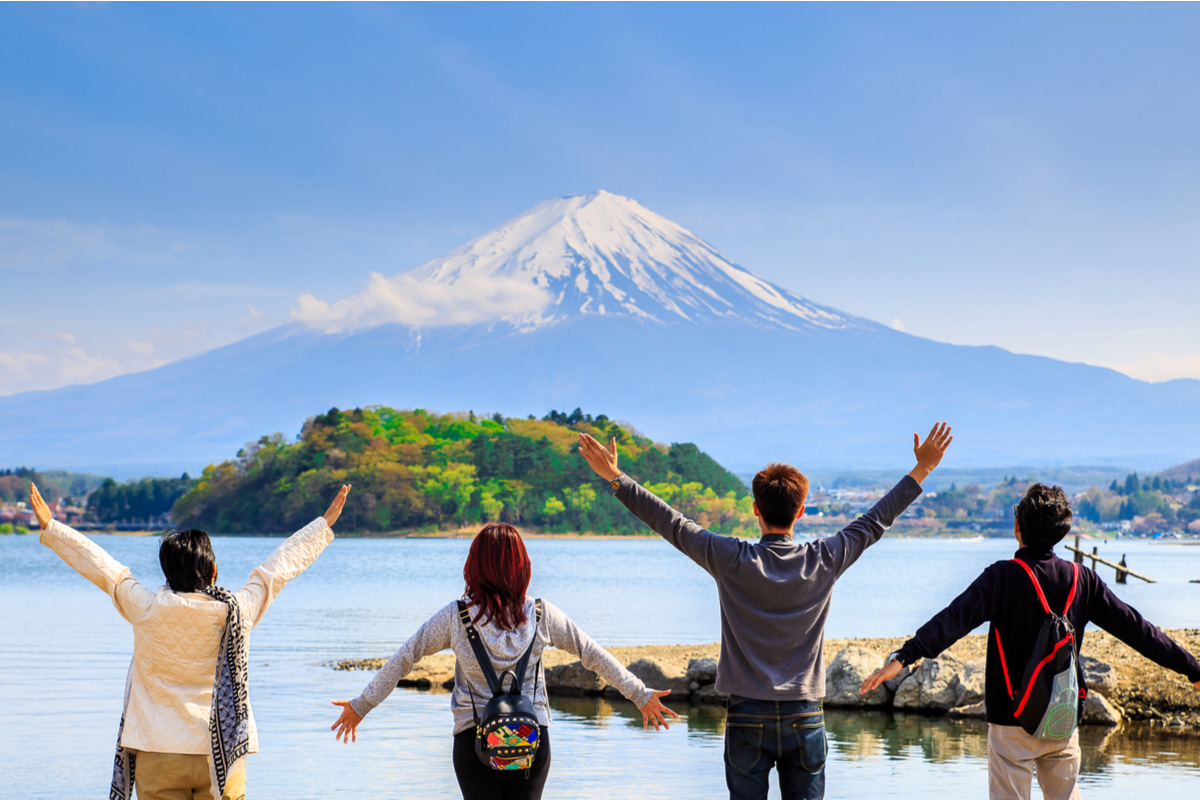 Mount Fuji is one of the most popular tourist destinations in Japan
