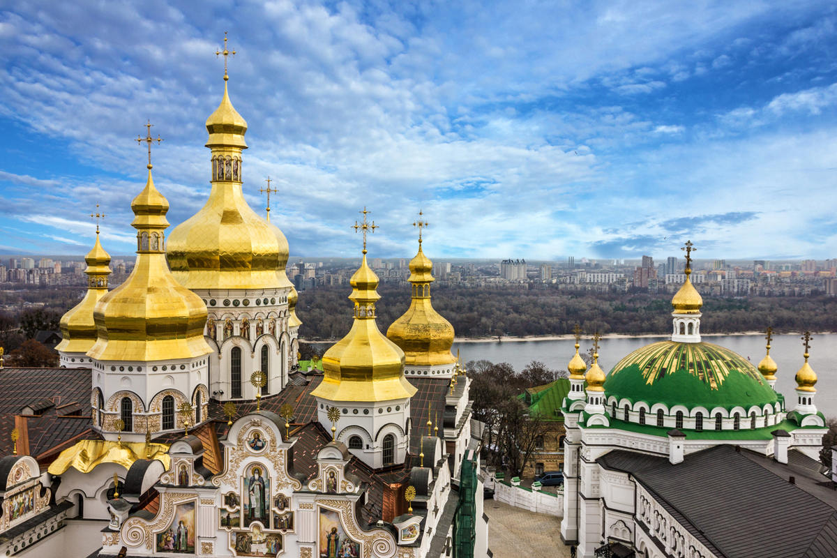 View of Pechersk Lavra Monastery reasons to visit Kiev