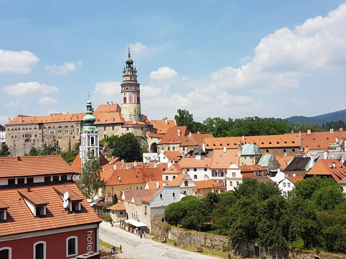 Small town Czesky Krumlov what you gain from travel