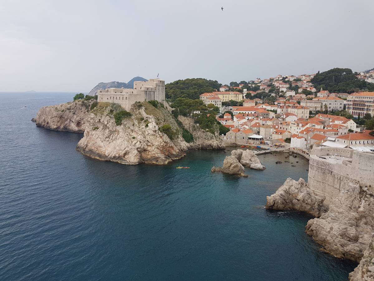 View Dubrovnink old town what you gain from travel