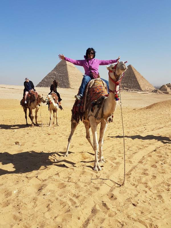 Camel ride Egypt what you gain from travel