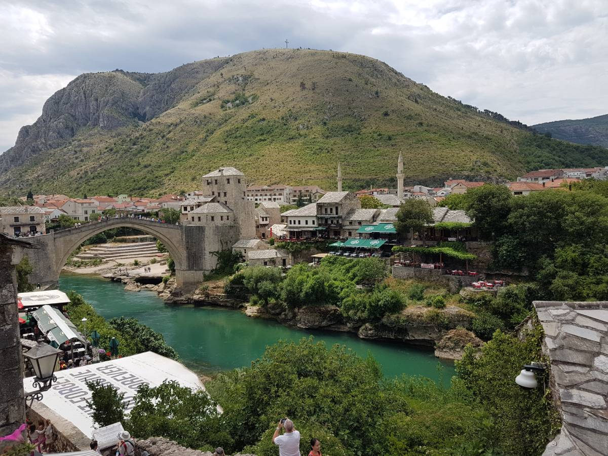 Sightseeing Mostar what you gain from travel