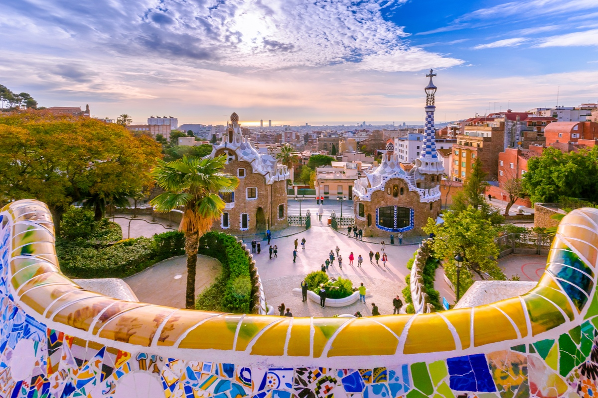 Parc Guell Spain May Travel