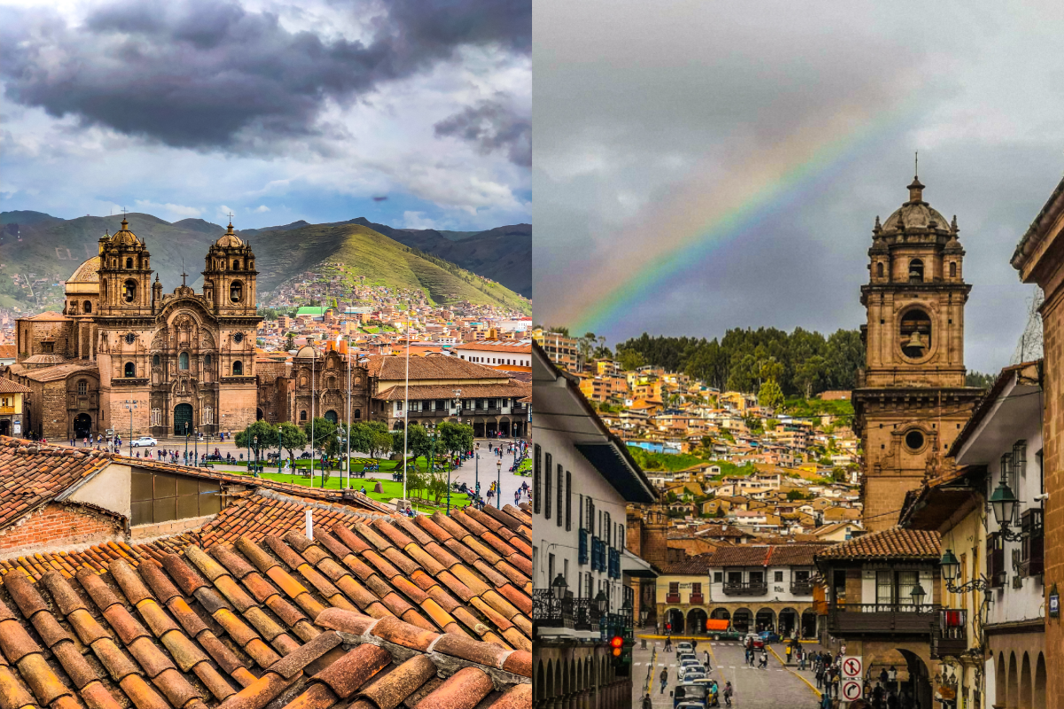 sightseeing Cuzco Peru winning a tour