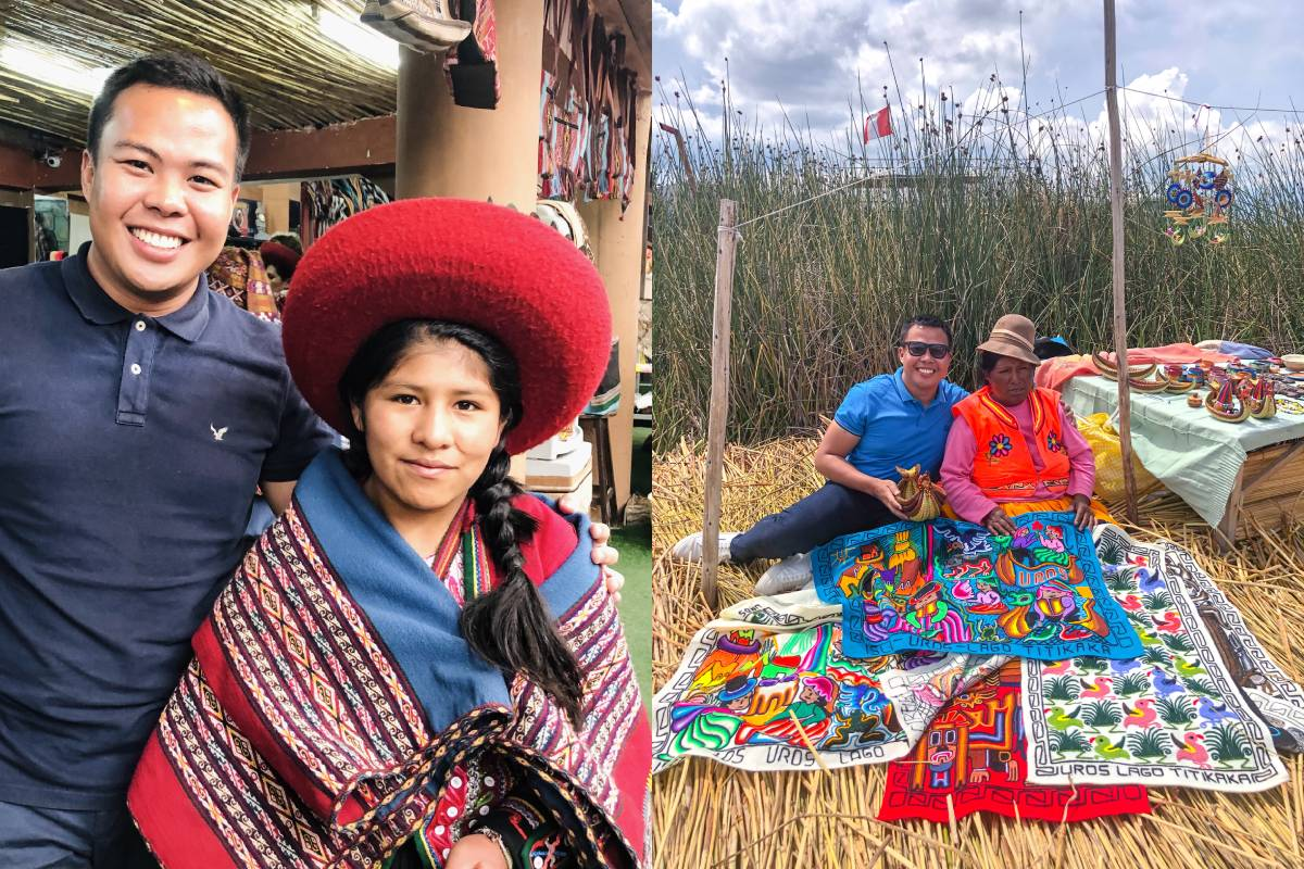 Meeting locals Peru winning a tour