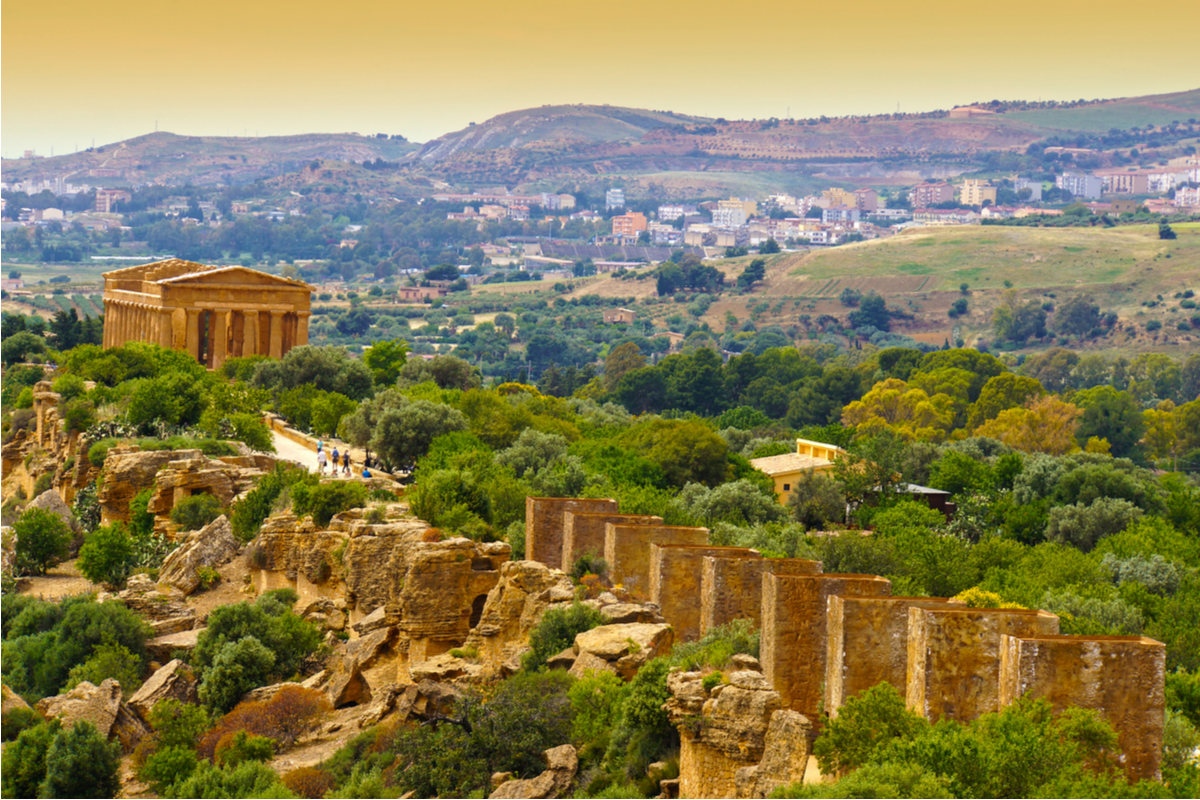 Valley of the Temples UNESCO site Sicily Italy