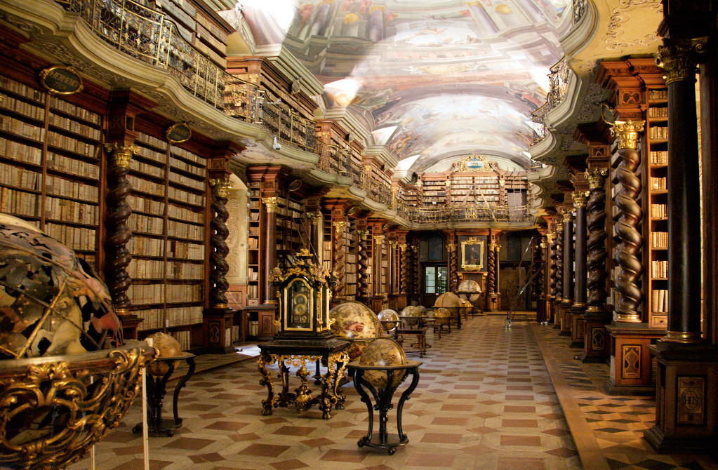 National Library of the Czech Republic beautiful libraries