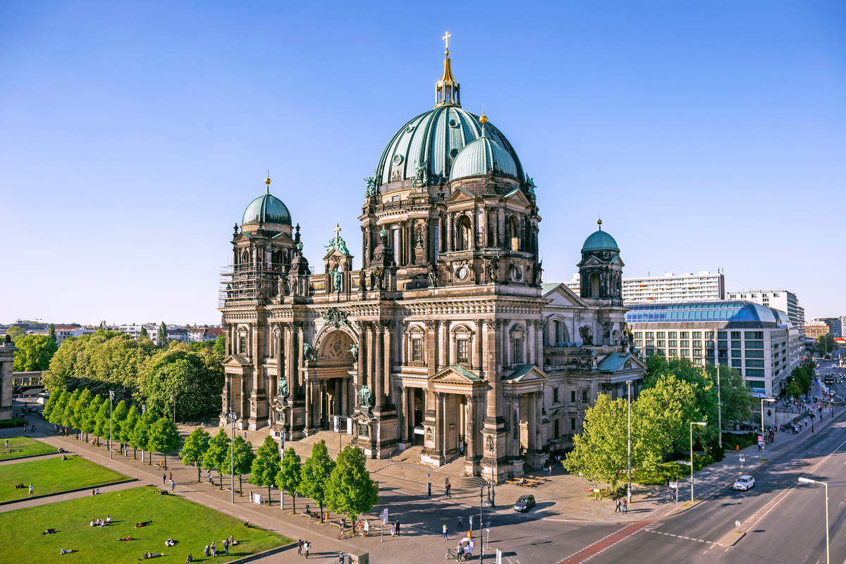 View of Berlin Cathedral Berlin gems
