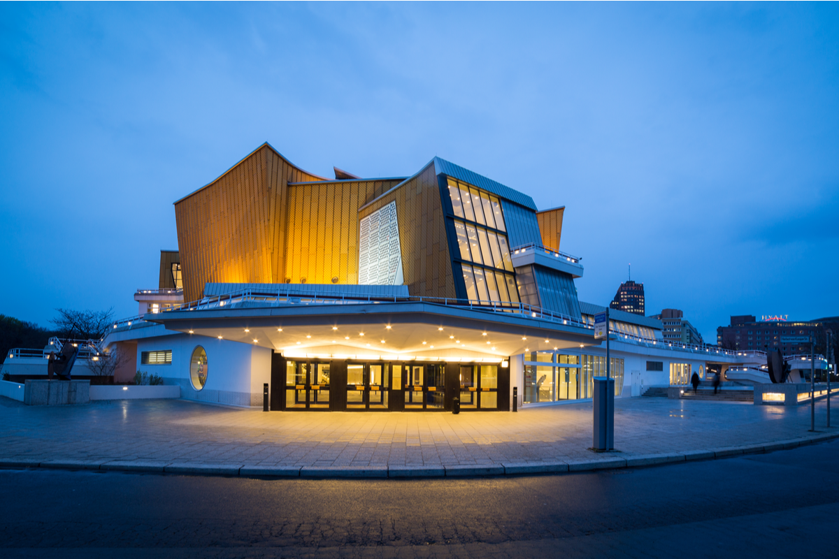 Berliner Philharmonie concert hall, Berlin gems