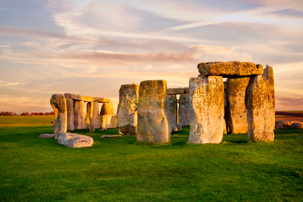 Stonehenge at sunset UK budget travel