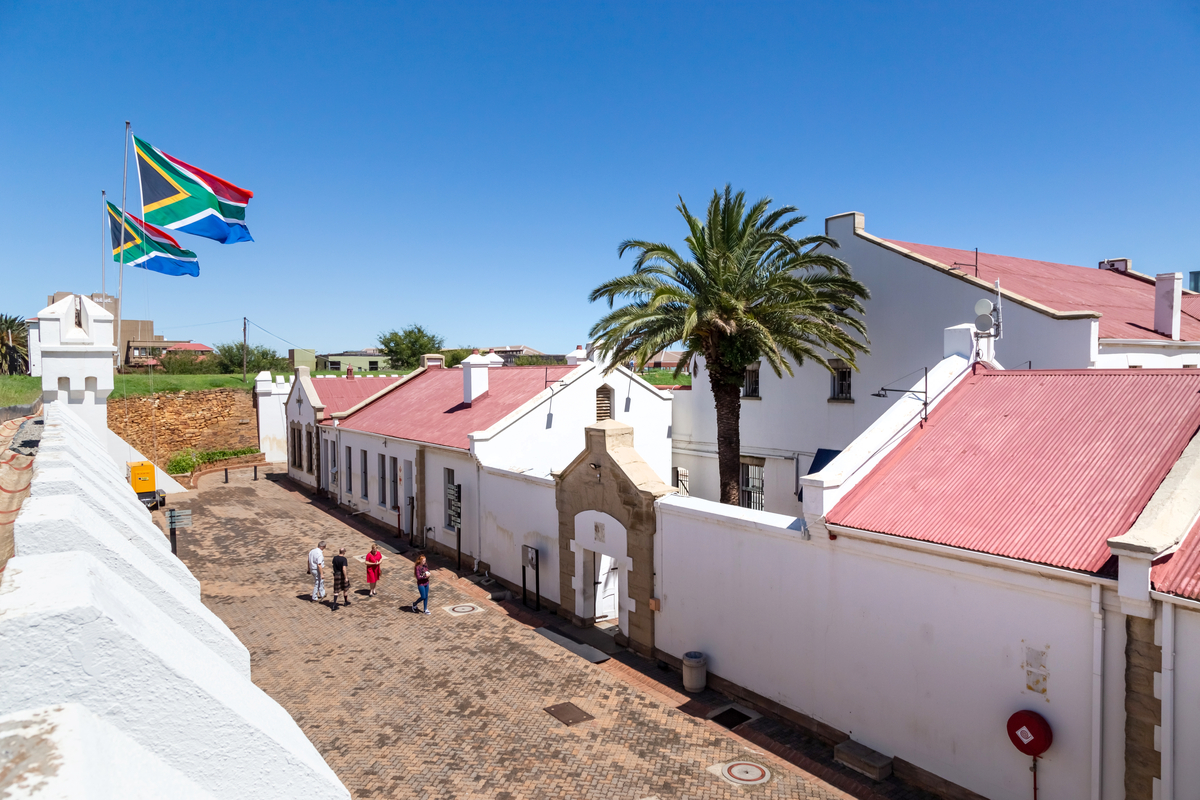 Old Fort jail and museum Constitution Hill South Africa Freedom Day