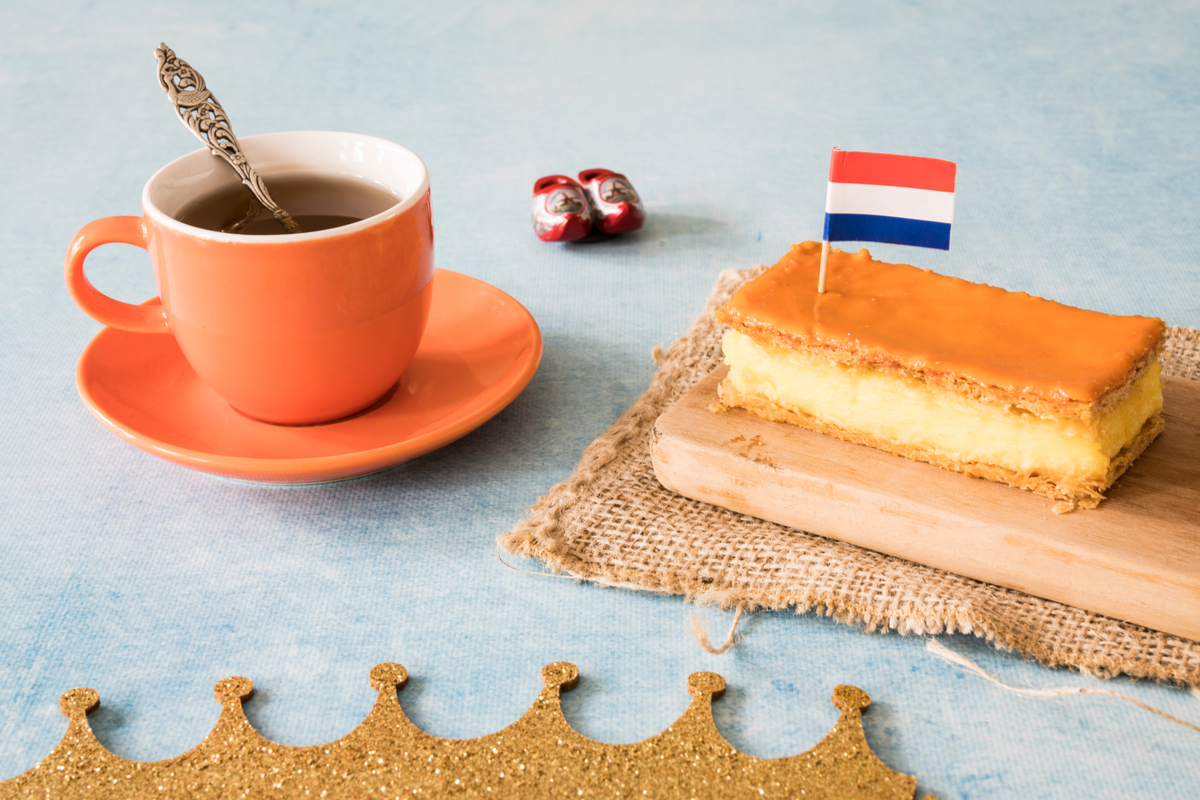 Dutch pastry tompouce King's Day