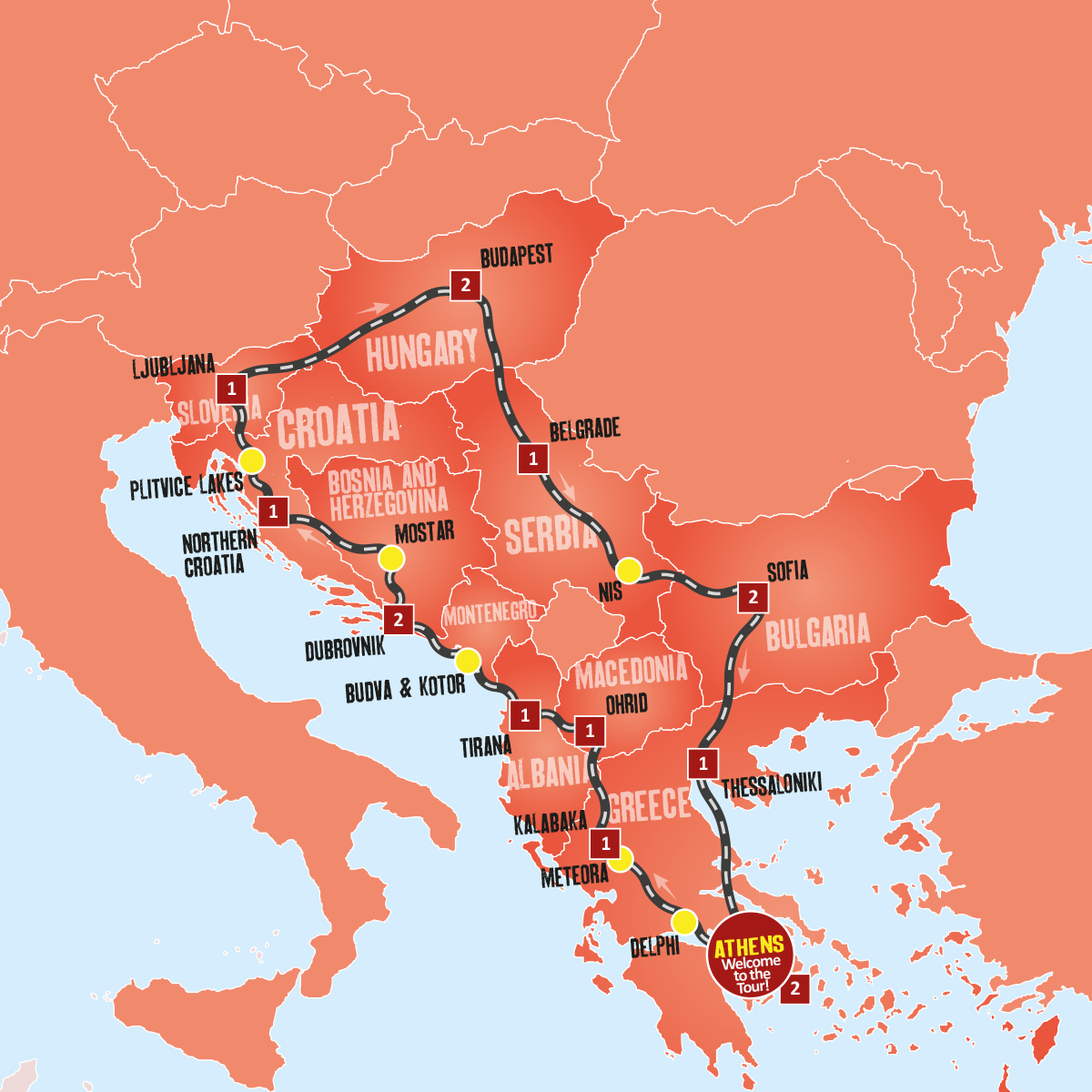 Balkan Explorer Tour Holiday Package Expat Explore Travel