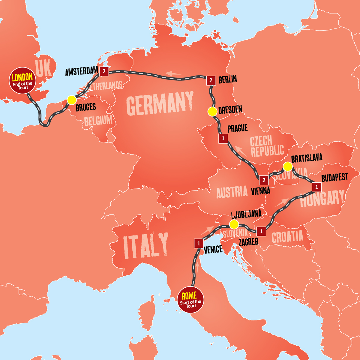 Best Of Eastern Europe Expat Explore - Best europe tours