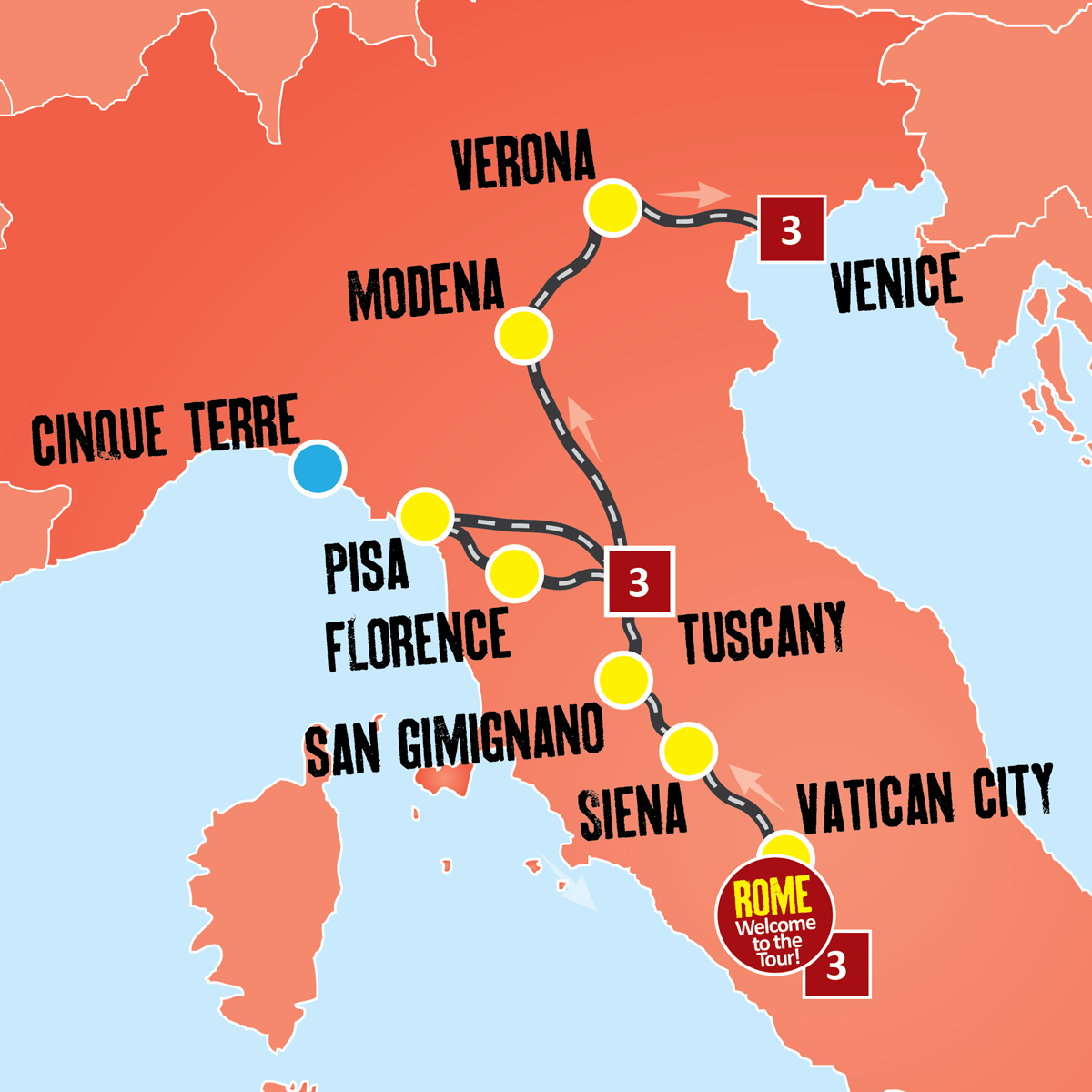 Italy Vacation Coach Tours Italy Holiday Packages Expat Explore