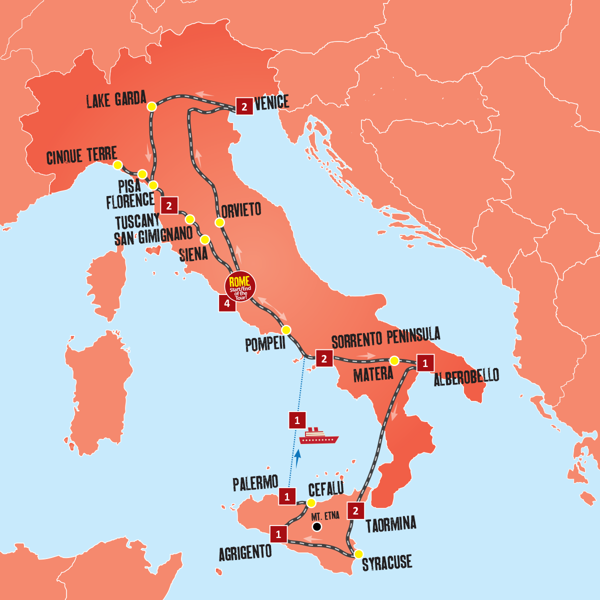 quality design 390aa 24635 Ultimate Tour of Italy – Italy Coach Tours – Expat Explore Travel