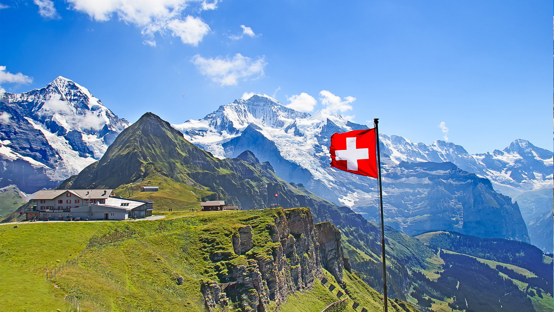 7 Day Europe Tour - London, Paris, for swiss countryside wallpaper 29dqh
