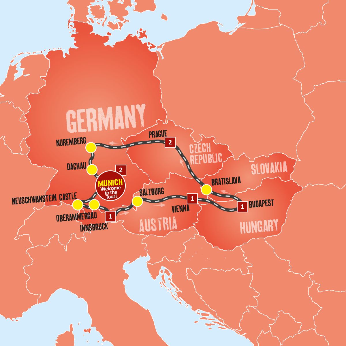 Eastern Europe Coach Tours